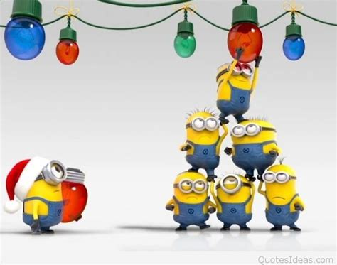 funny minions christmas wallpaper