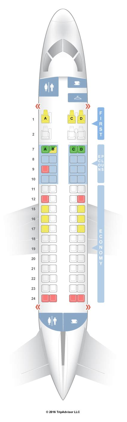 embraer erj 175 seat map seatguru seat map united embraer emb 170