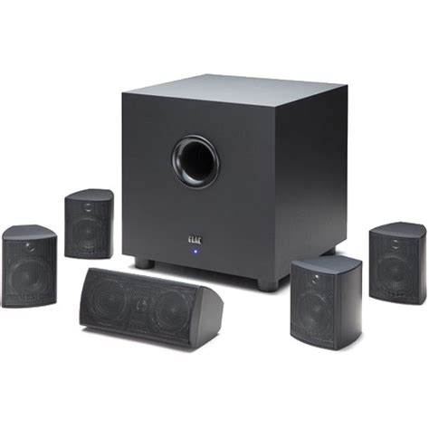 elac cinema   channel home theater speaker system htc