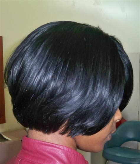 african american razor cut bob weave bob hairstyles for black women short hair