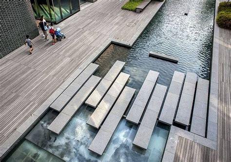 Landscape Architecture Korea Steps Across The Songdo Canal Walk By Kohn Pedersen