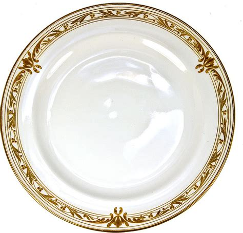 gold dining set plates set of 11 1908 marked kpm raised gold dinner plates each