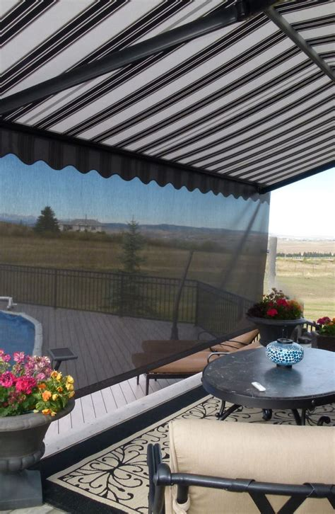 Awnings Calgary by 25 Best Ideas About Patio Awnings On Deck