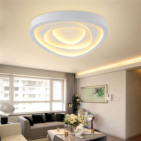 Salon Light Fixtures Aliexpress Buy Surface Mounted Ceiling Lights Led Light Living Room Ceiling Modern L