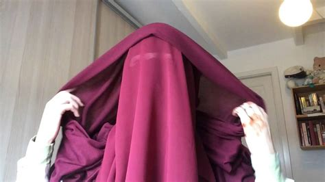Niqab Tutorial With Eye Veil | niqab tutorial with eye veil eye cover doovi