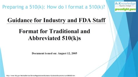 510k template fda 510 k tips best practices