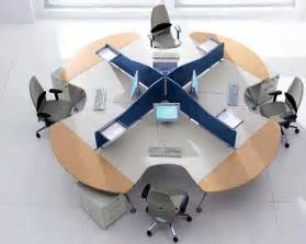 Circular Office Desks Modern Office Furniture Office Furniture