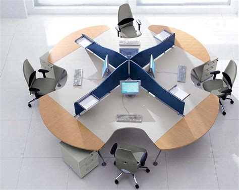 Circular Office Desk Modern Office Furniture Office Furniture