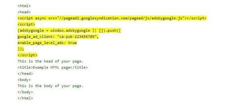 adsense verification code how to add google adsense to your wordpress website