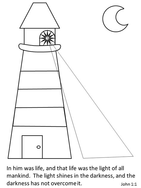 coloring pages jesus is the light of the world jesus color lighthouse bible coloring pages coloring book