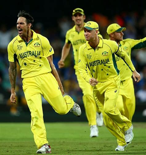 australia into world cup after win india