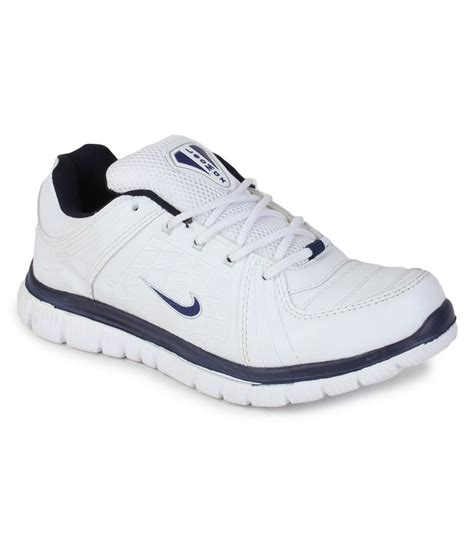 leo sport shoes leo max white and blue running sports shoes price in india