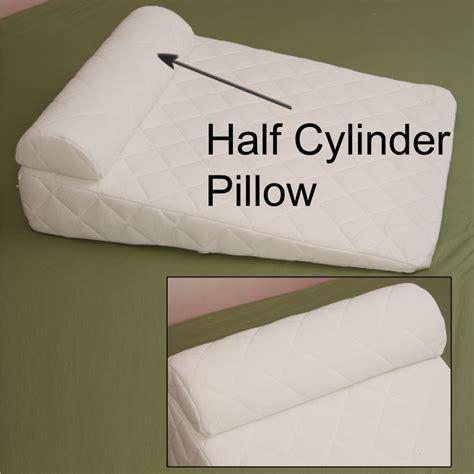 Half Moon Pillow Neck by Half Cylinder Lumbar Leg Lower Back Pillow Neck Pillow