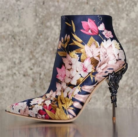 Flower Shoes by Best 25 Floral Heels Ideas On High Heels