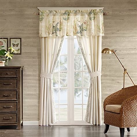 beach house window treatments harbor house summer beach window treatments www bedbathandbeyond com