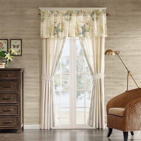 Harbor House? Summer Beach Window Curtain Panel Pair and