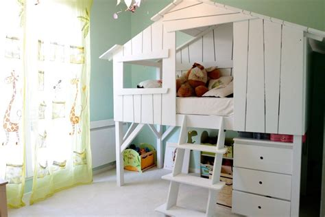 chambre enfant lit cabane construire lit enfant meilleures images d inspiration