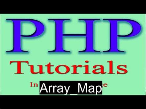 php tutorial youtube in hindi php tutorial in hindi part 39 array function in php array