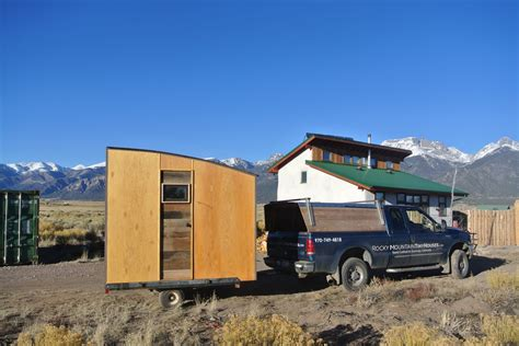 Tiny Bedrooms mobile micro cabin and office by rocky mountain tiny