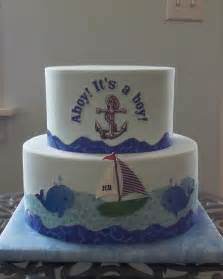 baby themed cake decorations nautical baby shower cakes baby shower cake by