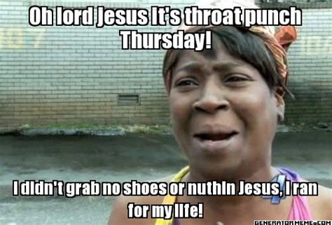 Punch Meme - throat punch thursday quotes pinterest