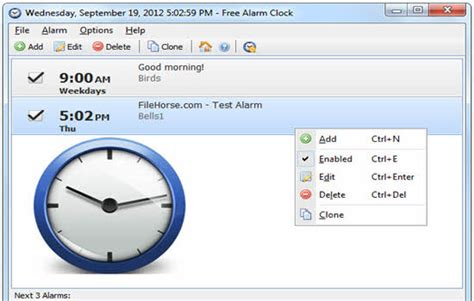 top    alarm clock software   melodious alarm