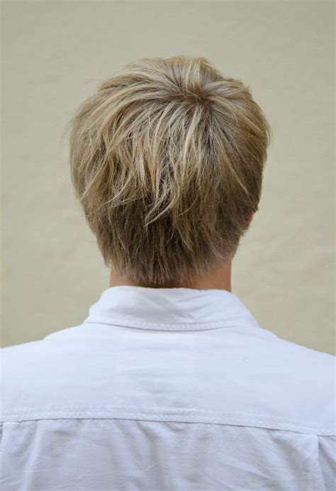 back of head hairstyle photos for men wedge haircuts front and back views