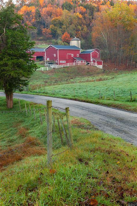 new england farmhouse new england farm photograph by bill wakeley