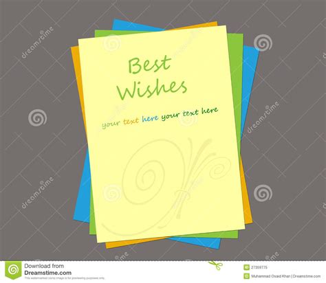 message card template greeting card template royalty free stock photo image