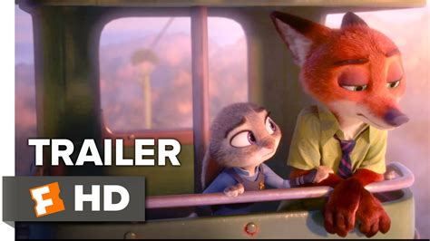 disney film zootopia trailer zootopia trailer 2 2016 disney animated movie hd youtube