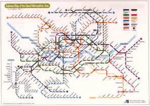 Map Of Subway by Subway Maps Colblindor