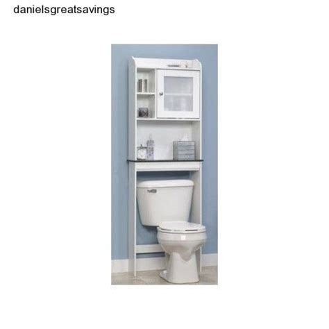 bathroom cabinet toilet storage shelf bath tank