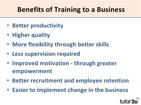 Benefits Of Mba To Employee by Aqa Bus2 Peopletraining