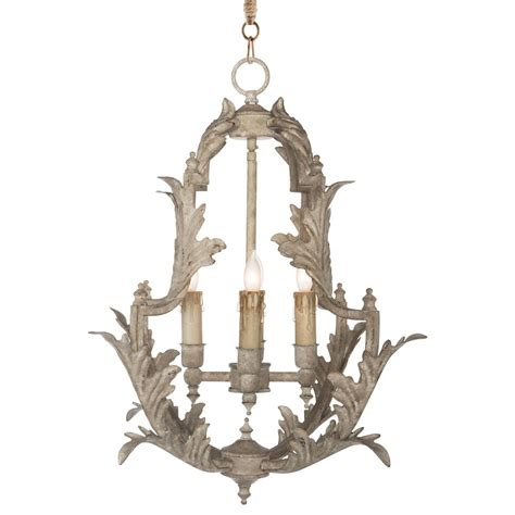 Country Chandeliers Clarisse Country Rustic White Chandelier 23 Inch Kathy Kuo Home