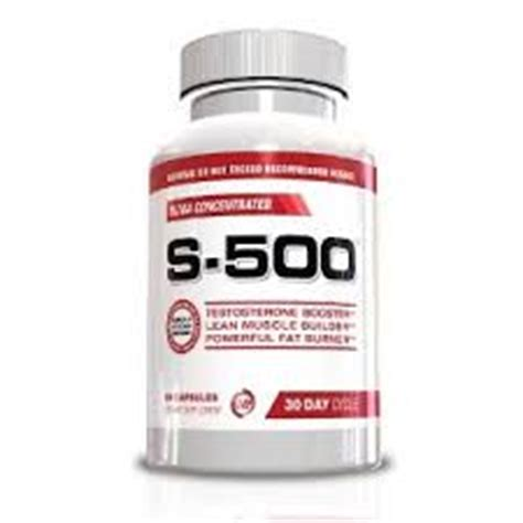 s 500 supplement reviews s 500 testosterone booster review does it work