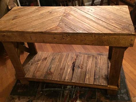 Pallet Sofa Table Diy Pallet Sofa Table