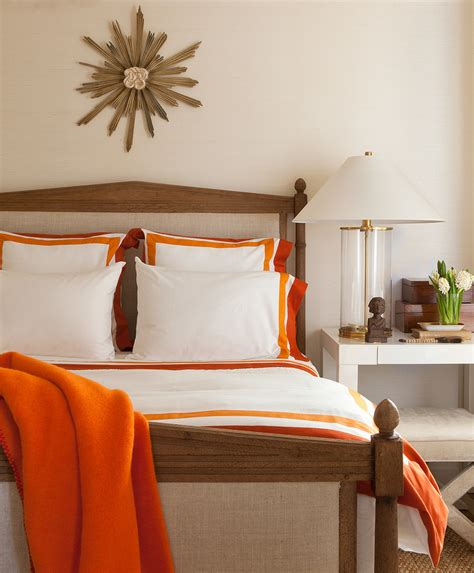 orange and white bedroom white and orange bedding contemporary bedroom