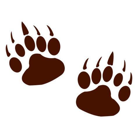 bear footprints template choice image templates design ideas