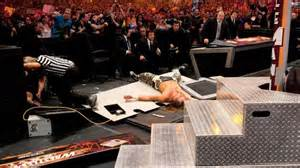 the splintered history of the announce table