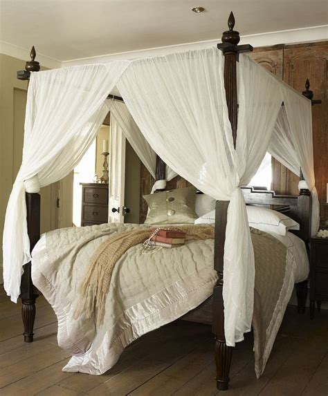 25 best ideas about canopy bed curtains on