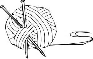 Yarn Ball Clear Clip Art At Clkercom  Vector Online sketch template