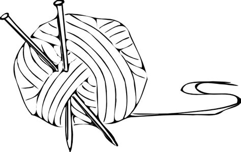 coloring pages for yarn yarn clear clip at clker vector clip