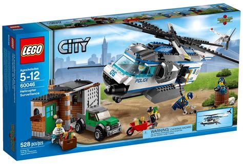 Lego Set 2014 lego city helicopter surveillance 60046 set photos