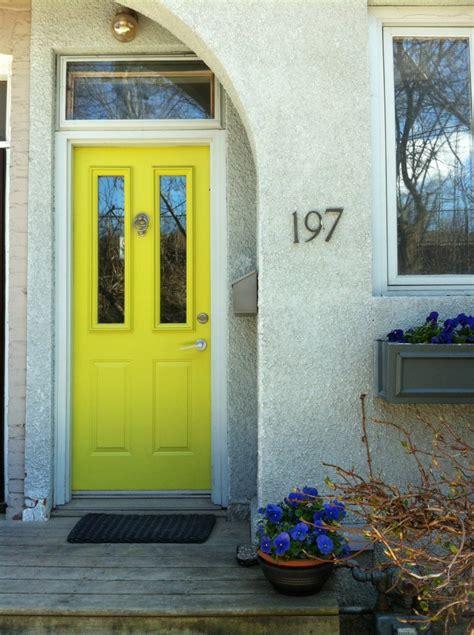 yellow front doors front doors in toronto killam the true colour expert