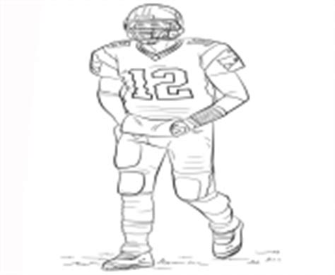 Nfl Coloring Pages Free Printable Tom Brady Coloring