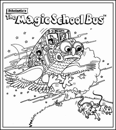 scholastic s the magic school bus color it in