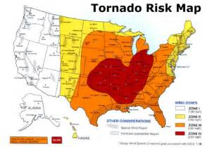 tornado alley map us tornado alley maps show the tornado risk regions in the
