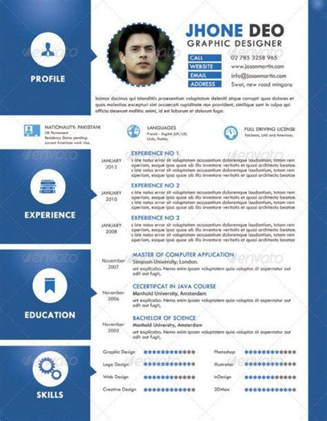graphic design cv exle 28 best resume for graphic designers psd ideas with
