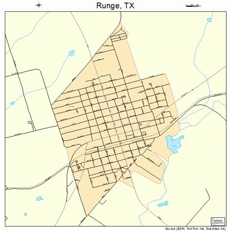 map of karnes county texas runge texas map 4863788