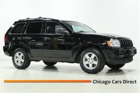 06 Jeep Laredo Sell Used 06 Grand Laredo 4x4 V6 Navigation Auto